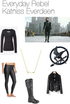 Katniss the mockingjay mockingjay hunger games and polyvore everyday rebel katniss everdeen is actually a really amazing outfit solutioingenieria Gallery