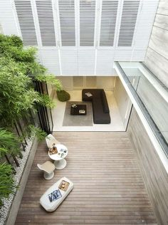 indoor / outdoor living in a narrow lot   Ong & Ong   Singapore