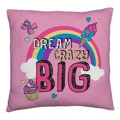 e185a5f8383b Jojo Siwa Big Bow Cushion Girls Kids Childrens Fans Pink Bedroom Gift Big  Bows