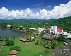 Apia –Samoa's capital