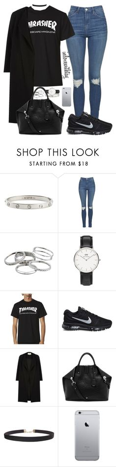 """63❤"" by inlovewithtay on Polyvore featuring mode, Cartier, Topshop, Kendra Scott, Daniel Wellington, NIKE, River Island, Mulberry et Humble Chic"