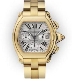 Cartier Roadster Mens in Gold. Dream!  ) Reloj Cartier 2229fd5f0439