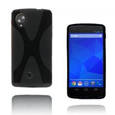 X-Line (Svart) Google Nexus 5 Skal - http://lux-case.se/x-line-svart-google-nexus-5-skal.html