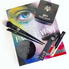 Thank you @katvondbeauty & @influenster for these amazing #makeup goodies! #lockitrevolution #contest #bbloggers