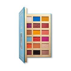 Jasmine Revolution Beauty Collection Is a Wish Come True! Disney Inspired Makeup, Disney Makeup, Small World Vacations, Disney Jasmine, Matte Blush, Blue Lips, Princess Collection, Pretty Packaging, Eye Palette