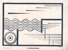Zarnowerowna Teresa 1924 Film composition - Teresa Żarnowerówna - Monoskop