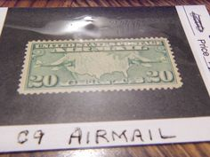"""""""OLDIE COLLECTORS STAMP #2 -1926-27 -C9 AIRMAIL  MNH,OG,XF"""