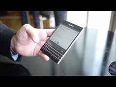 BlackBerry Passport first look - video