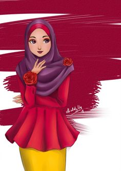 Explore the Muslim Manga collection - the favourite images chosen by CyprusBeetle on DeviantArt. Love Is Cartoon, Girl Cartoon, Hijab Drawing, Islamic Cartoon, School Cartoon, Anime Muslim, Hijab Cartoon, Hijab Casual, Manga Collection