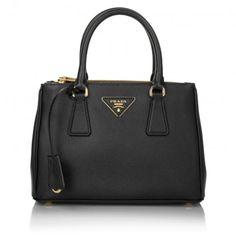 Prada Tasche – Borsa A Mano Saffiano Lux Nero – in schwarz – Henkeltasche für Damen