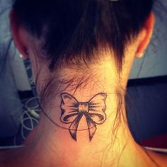 #tattoos for women -  back of neck