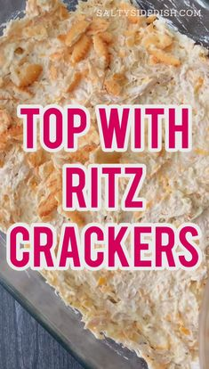Chicken casserole with ritz crackers is a 10 minute prep casserole dish that is such an easy recipe! with pre cooked chicken this dish takes only 10 minutes to prep and is a family favorite ritz chicken that everyone will want more of! Pre Cooked Chicken, Cooked Chicken Recipes, How To Cook Chicken, Cooking Recipes, Lemon Chicken, Chicken Recepies, Hcg Recipes, Cooking Ideas, Ritz Cracker Recipes