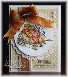 Hello stampin' friends...I totally forgot to post this *fall* card last week....check out the rest on my blog :) !!!