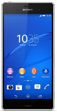 Sony Xperia Z3 Smartphone (5,2 Zoll (13,2 cm) Touch-Display, 16 GB Speicher, Android 4.4) silbergrün