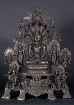 "Masterpiece Tri-Tirthankara Statue 21"""