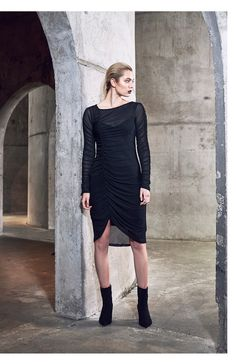 moochi Winter 2017, Winter Collection, Dresses With Sleeves, Long Sleeve, Sweaters, Fashion, Moda, Sleeve Dresses, Long Dress Patterns