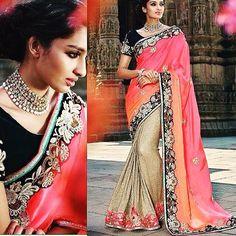 Pure satin pallu and imported fabric skirt with diamond and zari work border and pure silk blouse  Available with us  Watsapp - 91 9930777376 Email -  fashioncloset06@gmail.com Or DM for enquiries.  #wedding #sari  #indiandesigner #indiansuits #indianbrides #manishmalhotra #saree #indianclothes #punjabiweddings #bridalwear #eid #sikhweddings #indianwear #vancouverwedding #indiancouture #anushreereddy #newyork #shilpashetty  #lenghacholi #sikhwedding #anarkalis #taruntahiliani #anarkalisuits…