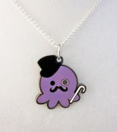 Deluxe Gentleman Octopus Necklace
