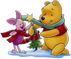 Christmas Disney Winnie the Pooh Clipart --> Disney-Clipart.com