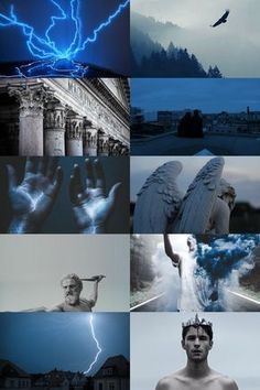 skogsrå — zeus aesthetic (more here) Witch Aesthetic, Aesthetic Collage, Character Aesthetic, Blue Aesthetic, Greek Mythology Gods, Greek Gods And Goddesses, Roman Mythology, Wallpaper Tumblrs, Son Of Zeus