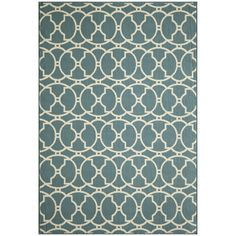 Carmel Decor - Baja Collection Blue - Rugs by Momeni