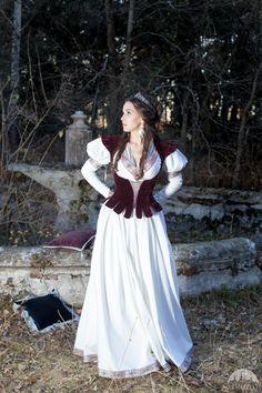 """Mittelalter Weste """"Die heimgekommene Prinzessin"""""""