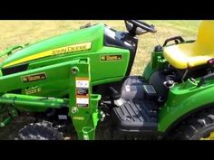 12 best my new tractor tips tricks info images on pinterest 36 mower belt replacement john deere 1025r compact utility tractor youtube fandeluxe Image collections