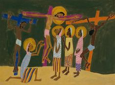 Mount Calvary - William H. Johnson  (Walter O. Evans Collection)