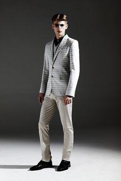 Jonathan Saunders Spring 2013 Menswear Fashion Show