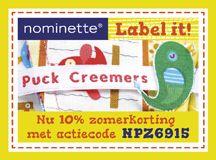 Ontwerp je eigen label bij Nominette