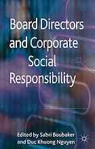 Board Directors and Corporate Social Responsibility Buch Corporate Social Responsibility, No Response, Perspective, Insight, Boards, Fields, Countries, Book