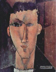 Retrato of Raymond Radiguet,   Amedeo Modigliani