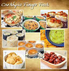 Cardápio Finger Food
