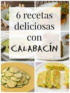 6 recetas con calabacín que te van a encantar   Cuuking! Recetas de cocina