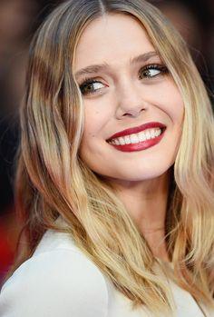 Elizabeth Olsen attends the European Premiere of 'Captain America: Civil War' at Vue Westfield on April 26, 2016 in London, England