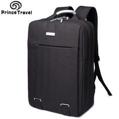 Prince Travel Oxford Backpacks capacity Men's Travel Backpack Durable 15 16 inch laptop backpack offical bag for Business Men