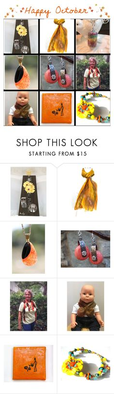 """""""Happy October"""" by belladonnasjoy ❤ liked on Polyvore featuring EASEL, modern, rustic and vintage"""