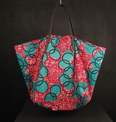 Photo of Africa Cube Tote Bag