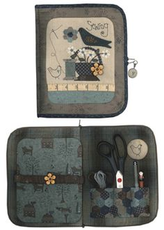 Sewing accessory case