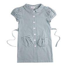 AGNES B. Enfant Squared Dress