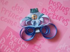 Princess Carriage sculpted hair clip bow. $ 6. Inspired by Cinderella's Coach Carriage. See us on facebook.com/tiedtutus or etsy Tied Tutus & Things.