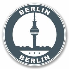 2 X Berlin Germany Vinyl Sticker Luggage Travel Tag German Label Fun Pop Stickers, Tumblr Stickers, Scrapbook Stickers, Old Fashioned Names, Bird Stencil, Travel Tags, Aesthetic Stickers, Vintage Travel Posters, Berlin Germany