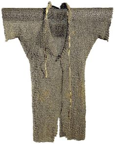 A full length hauberk from the mid 13th Century.