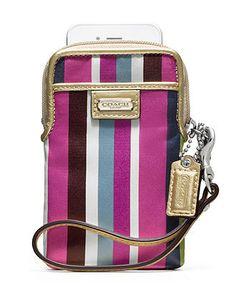 COACH LEGACY STRIPE UNIVERSAL CASE - Coach Accessories - Handbags & Accessories - Macy's