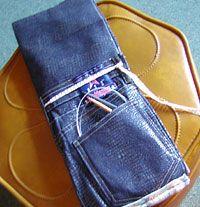 knitting needle case pattern