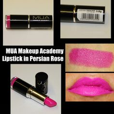 MichelaIsMyName: MUA Makeup Academy Lipstick in Persian Rose REVIEW...
