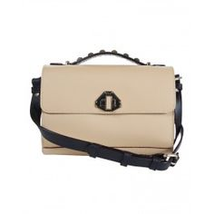 Rebecca Minkoff Mini Blake Bag in Black/Natural http://www.eluxe.ca/en/rebecca-minkoff-mini-blake-bag-black-natural.html