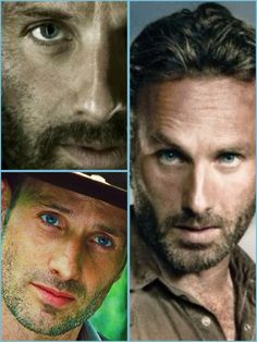 Rick Grimes - The Walking Dead, look at those eyes.