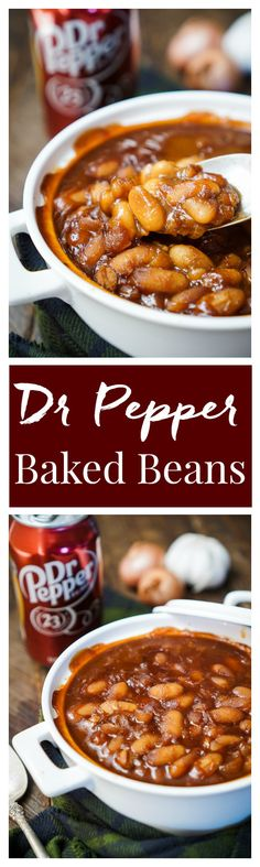These Dr Pepper Baked Beans are sweet and delicious and ready in less than an…
