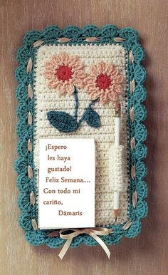 Crochet En Acción (Click on the instructions beneath the pictures, and you'll find they're already in English)
